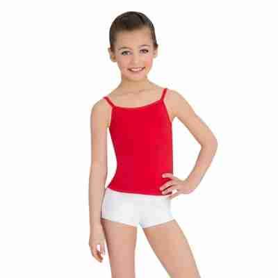 Capezio Team Basics Cami Meisjes rood