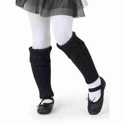 "Capezio 12"" Legwarmer - Kinderen zwart"