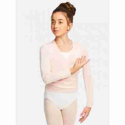 Capezio Wrap Sweater Meisjes roze