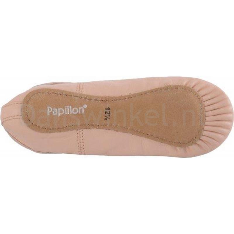 Papillon Kinderballetschoenen met Doorlopende Zool PK1000 roze