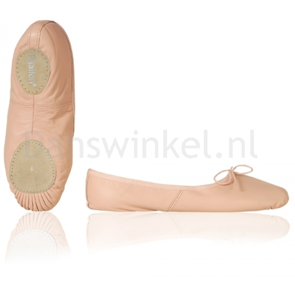 papillon kinderballetschoenen zachte balletschoenen met splitzool zalm roze dansschoenen. Black Bedroom Furniture Sets. Home Design Ideas