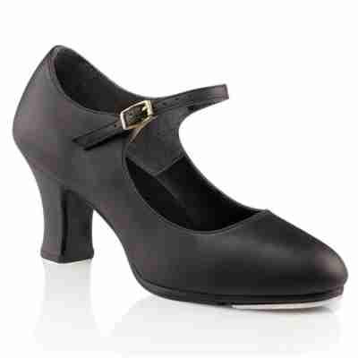 Capezio manhattan Xtreme zwarte tapschoenen met hoge hak