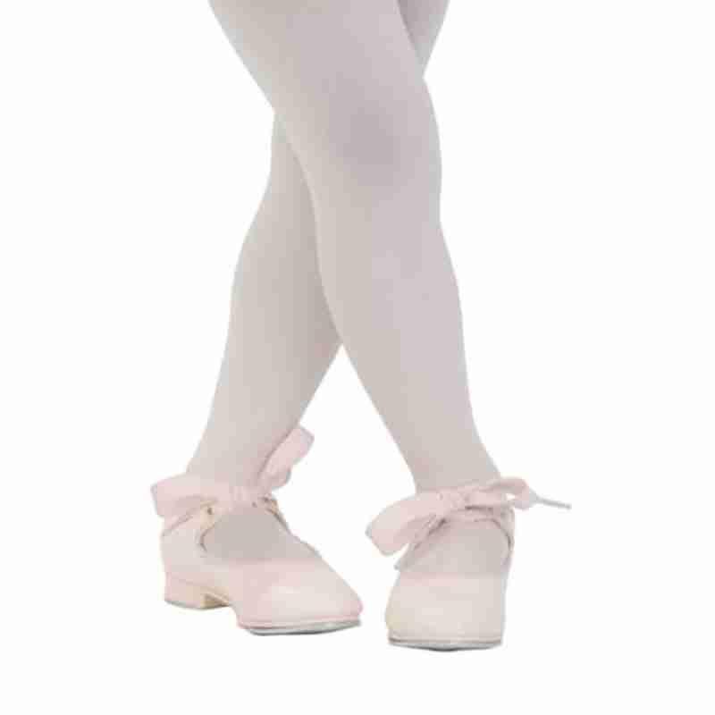 Capezio roze Tap Dansschoen PU voor Meisjes Jr Tyette U625C