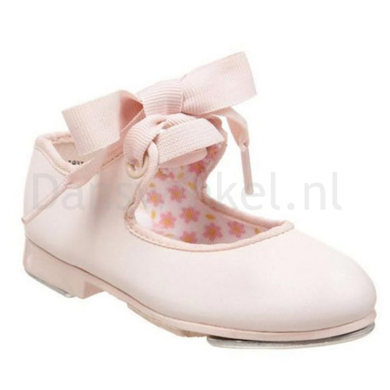 lichtgewicht roze kinder tap dansschoen Capezio U625C Tyette Junior