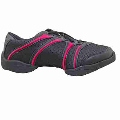 paarse danssneakers van capezio bolt ds30 voor workout
