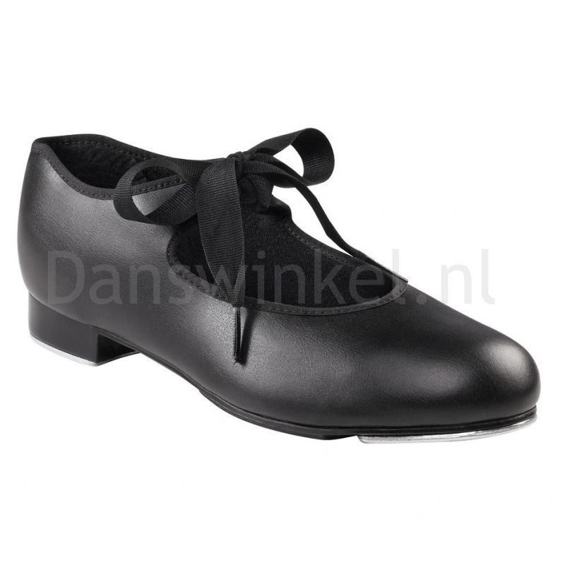 tapdans schoenen Capezio Jr Tyette zwart pu kunstleer U925 met tele tone tapijzers
