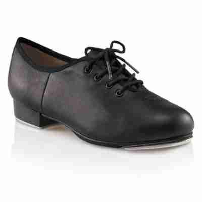 zwarte dansschoen voor Tap van leer Capezio CG55 Teletone Xtreme