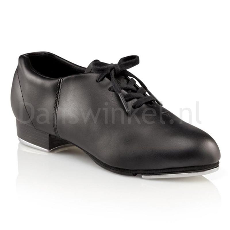 zwarte tap schoenen Capezio Fluid CG17 voor volwassenen licht en soepel