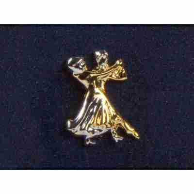 Diamant Broche van Dansend Paar HW07972 Close-up
