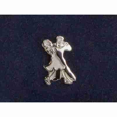 Diamant Broche van Dansend Paar HW07973