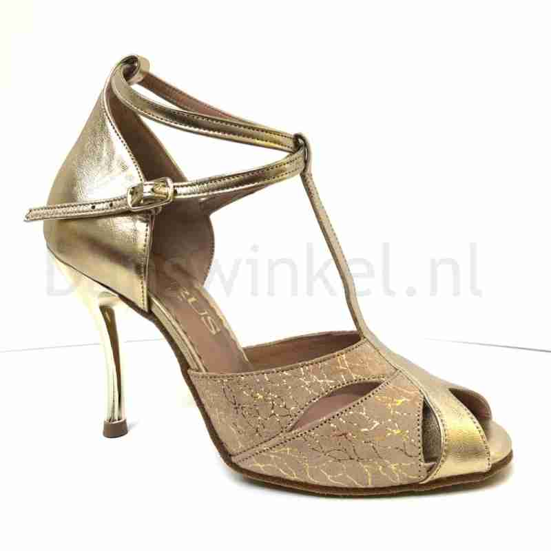 Horus Capretto Oro HR 415 Salsa Dansschoenen