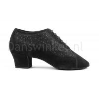 Portdance PD701 Fashion Black Nobuck Glitter Danswinkel Selection