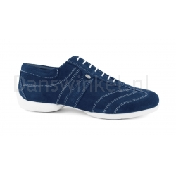 Portdance PD Pietro Street Blue Nubuck White Sole