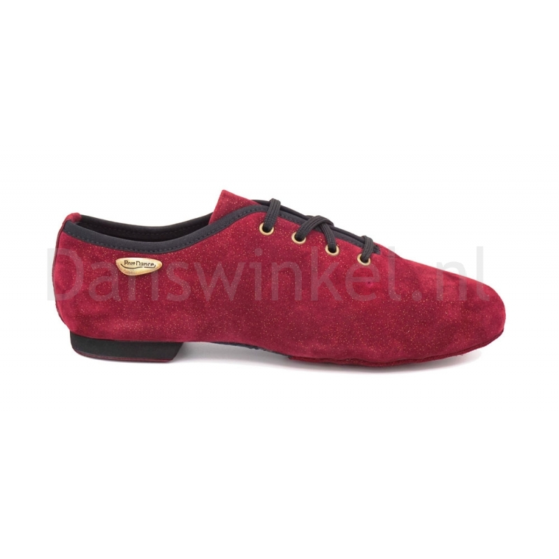 Portdance PD J001 Salsa-Jazz schoenen bordeaux