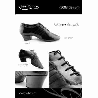 Portdance PD008 Dansschoenen Latin Heren