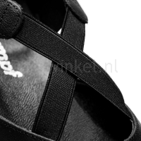 Rumpf Greek Sandal zwart 1313 detail