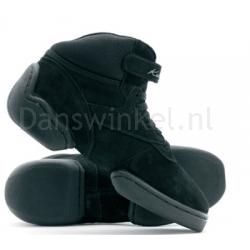 Katz zwarte hoge danssneakers KDS01