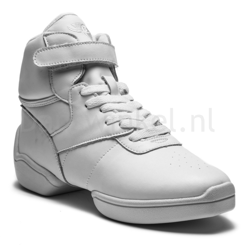 Rumpf High Top Sneaker Leather upper white 1500