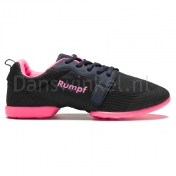 Rumpf Mojo Danssneakers Zwart/Navy/Pink