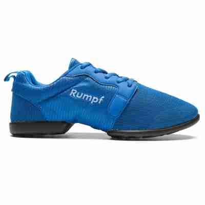 Rumpf Mojo RU1510 Blauwe Danssneakers met Splitzool