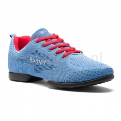 Rumpf Zuma Danssneaker ademende High-Tech Mesh-Upper Ice Blue