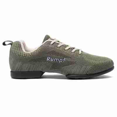 Rumpf Zuma RU1567 Khaki Danssneaker voor Dames en Heren