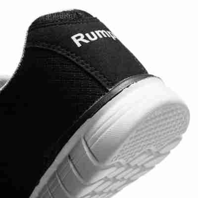 Rumpf 1620 Mobster danssneakers zwart met wit
