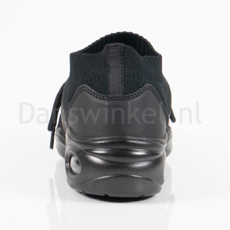 So Danca DK80 Zwarte Vegan Danssneakers Synthetisch Leer