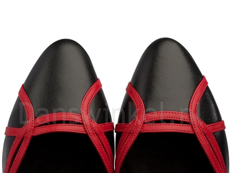 Supadance style 1542 Zwart-Rood