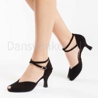 zwarte dansschoenen werner kern