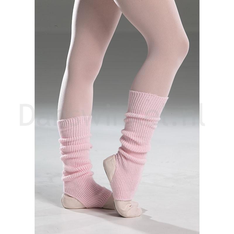 Intermezzo Roze beenwarmers voor dansers kort met opening 2655