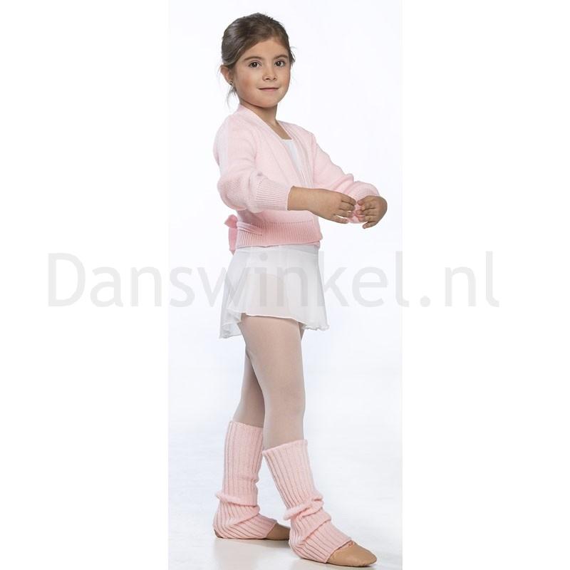 Intermezzo dans beenwarmers voor meisjes kort met opening 2010