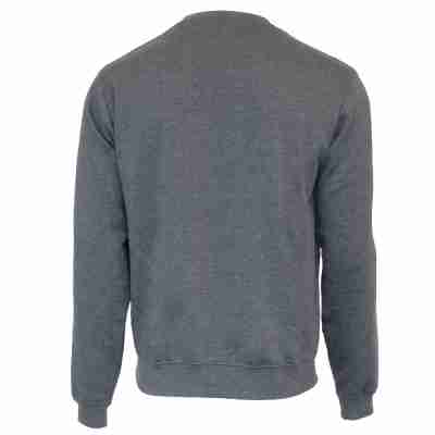 Donnay Heren Fleece Crew Sweater Dean grijs achterkant