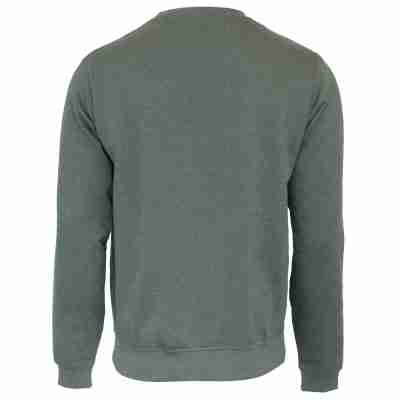 Donnay Heren Fleece Crew Sweater Dean groen achtyerkant