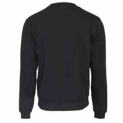 Donnay Heren Fleece Crew Sweater Dean zwart achterkant