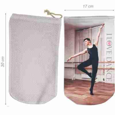 Alista Ademend Balletschoenen Tasje voor Heren