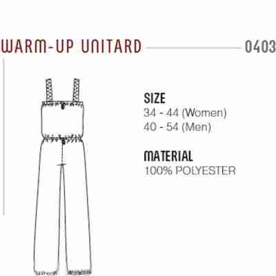 Grishko Unitard met sauna-effect