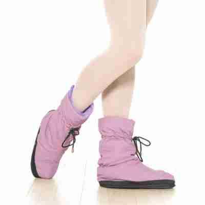 Grishko M-30 roze warm-up ballet boots om voeten en enkels warm te houden tijdens repetities en voorstellingen