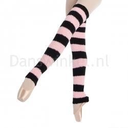 Harmonie 2-Colour Striped Legwarmers SL7764