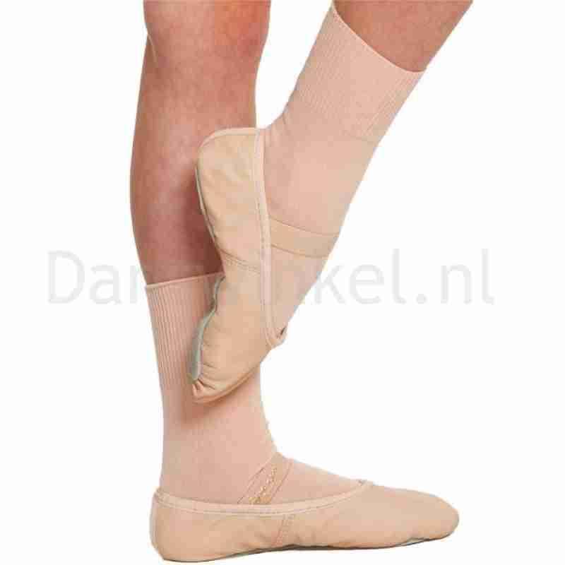 Intermezzo Danssokken Voor Klassiek Ballet huidskleur