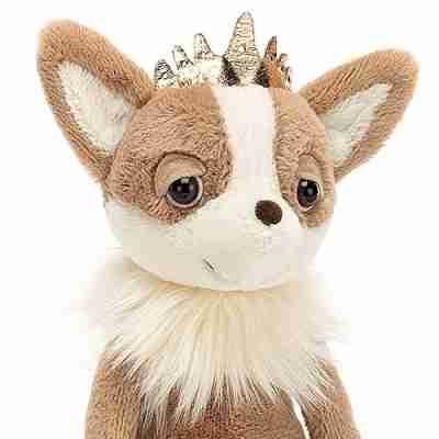 Jellycat Knuffelhond Princess Chihuahua
