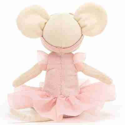 Jellycat Knuffelmuis Pirouette Mouse Candy