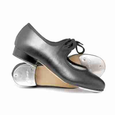 Katz Dames Tap dansschoenen met Strik vetersluiting PU kunstleer LBPuTap
