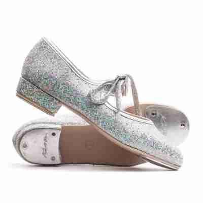 Katz Tap dansschoen met opvallende Glitters Striksluiting ZGTap
