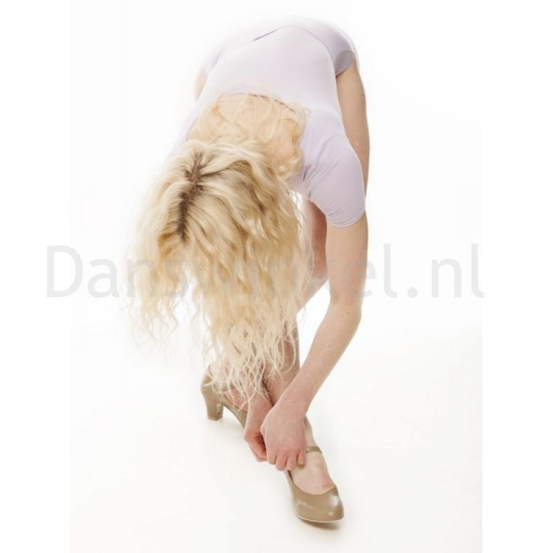 Katz dames dansschoen voor swing lindy hop musical in beige