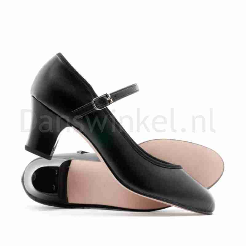 Katz zwart Dames Character Dansschoen met 5 cm hak PU Showtime ZSTCha