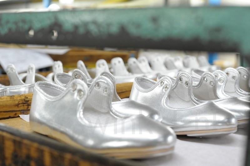 Katz Zilver Glitter Tap Schoenen voor dames