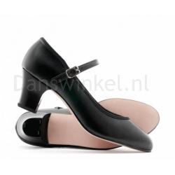 Katz Zwart PU Showtime Danse schoen