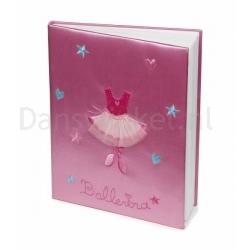 Katz Roze Satijn Ballerina Notitie Boek