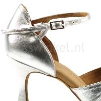 zilveren bachata schoenen